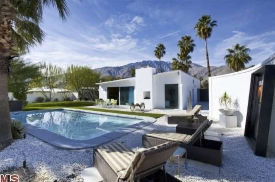 Pools are a huge part of the Modernism home design ascetic. Photos via Estately and MLS.