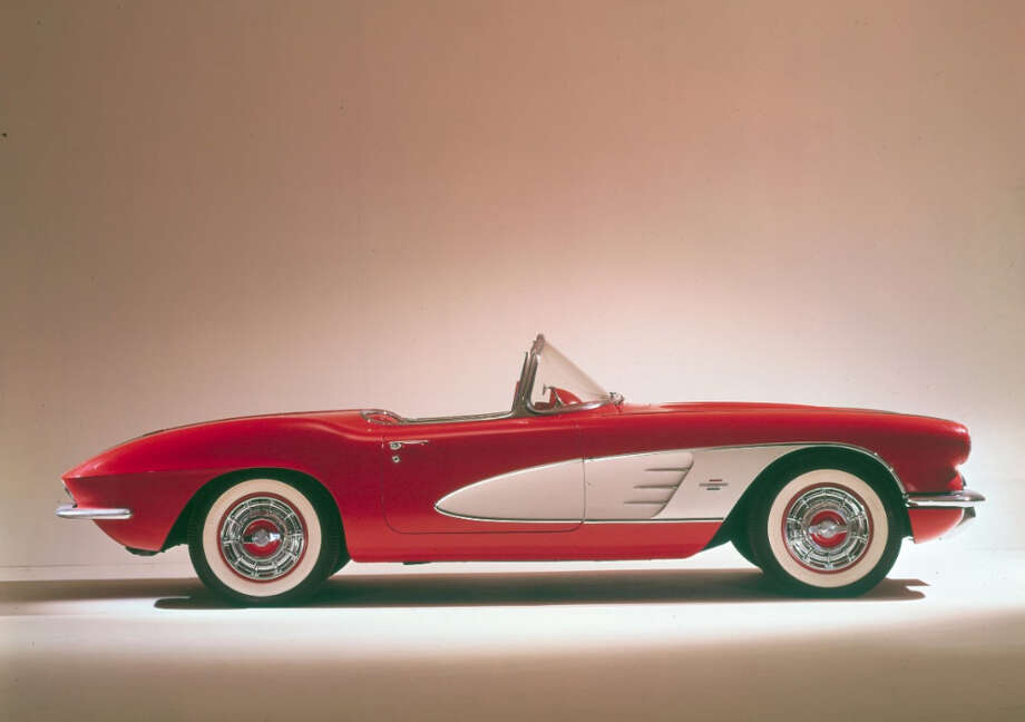 1961 Corvette Route 66 model