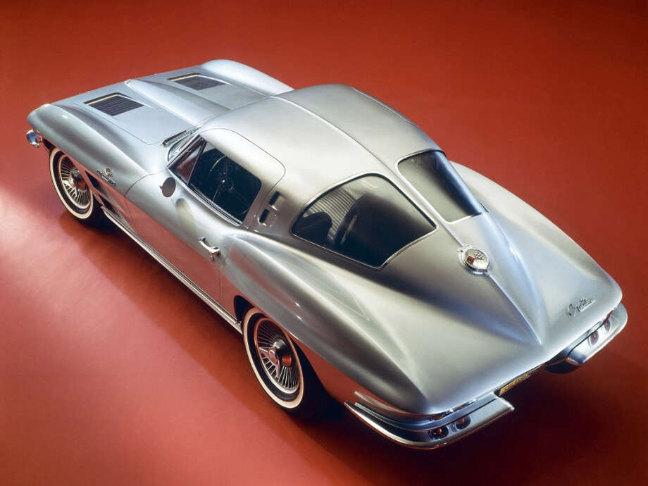 1963 Corvette Sting Ray split-window coupe (only C2 with split window)