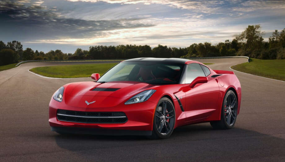 2014 Corvette. The latest model