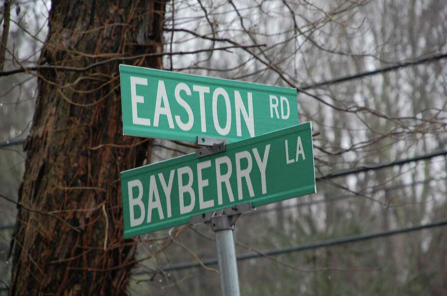 A sometimes-boisteroud crowd turned out Wednesday to voice concerns about traffic safety and speeding at the intersection of Easton Road (Route 136) and Bayberry Lane. WESTPORT NEWS, CT 2/27/13 Photo: Jarret Liotta / Westport News contributed