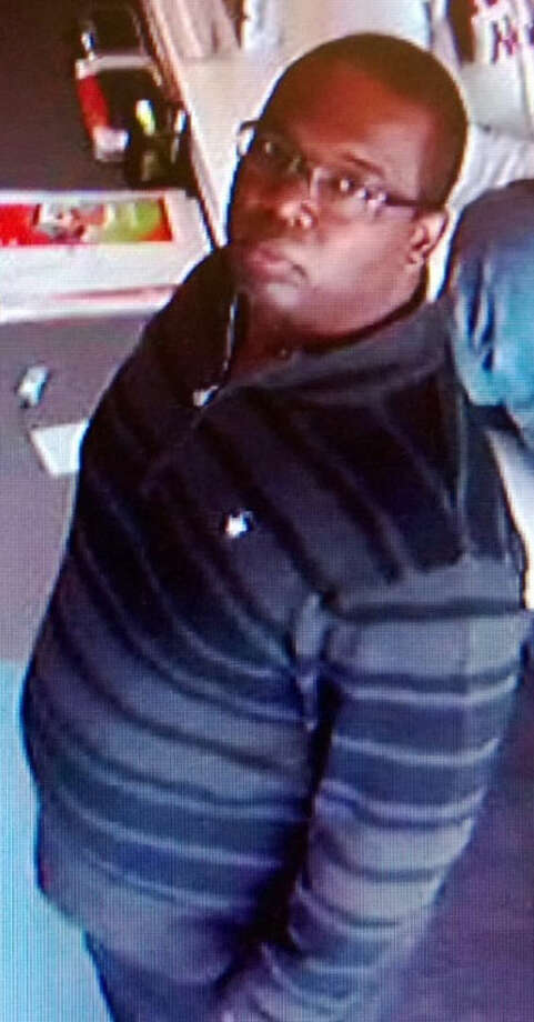 Police are looking for this man in connection with cell phone thefts at two area  AT&T stores. Photo: Courtesy