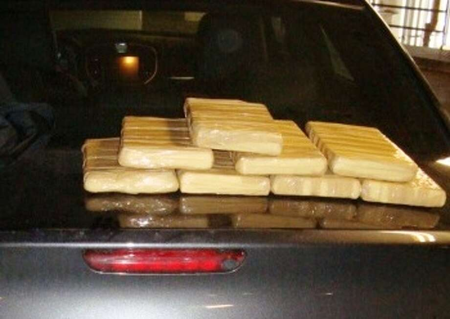 Cocaine seized during a traffic stop on Interstate 45 in Montgomery County Wednesday afternoon. Photo: MCSO