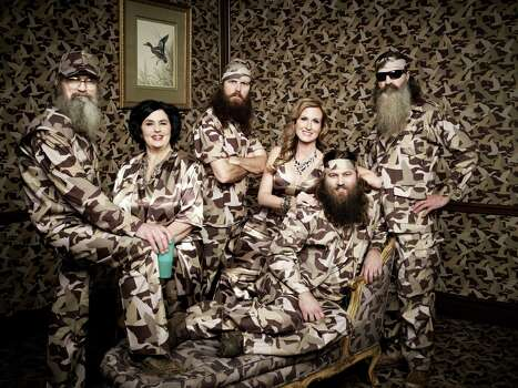 Do you love 'merca, but hate hygiene. Then 'Duck Dynasty' may be the way to go for you ... Photo: Art Streiber, Art Streiber/A&E / ©2013 Art Streiber