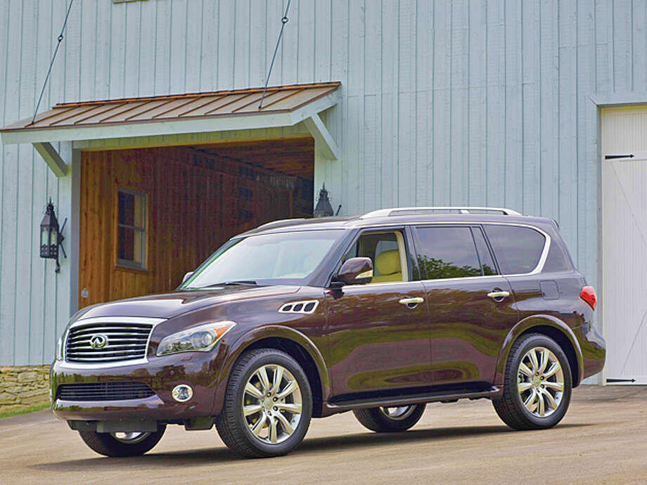 2013 Infiniti QX56 4WD (photo courtesy Infiniti) Photo: Infinti / © 2012 Infiniti