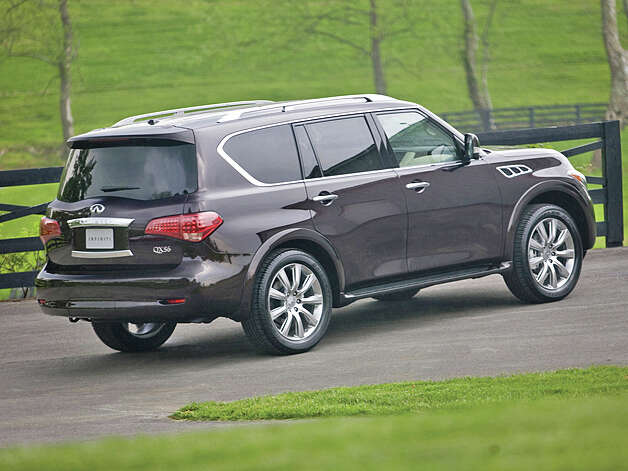 2013 Infiniti QX56 4WD (photo courtesy Infiniti) Photo: Nissan / Copyright 2012