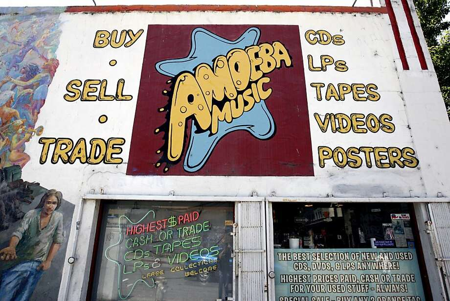 "No list of Bay Area record shops can start without Amoeba Music. Opened in 1990 on Telegraph Avenue nearby UC Berkeley, Amoeba also has a second location in the Haight, branding itself ""the world's largest independent record store."" (2455 Telegraph Avenue, Berkeley. http://www.amoeba.com/) Photo: Katy Raddatz, The Chronicle"