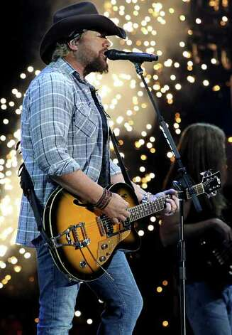 Musician Toby Keith performs during day 2 of Stagecoach: California's Country Music Festival 2010 held at The Empire Polo Club on April 25, 2010 in Indio, California. Photo: Christopher Polk, Getty Images / 2010 Getty Images