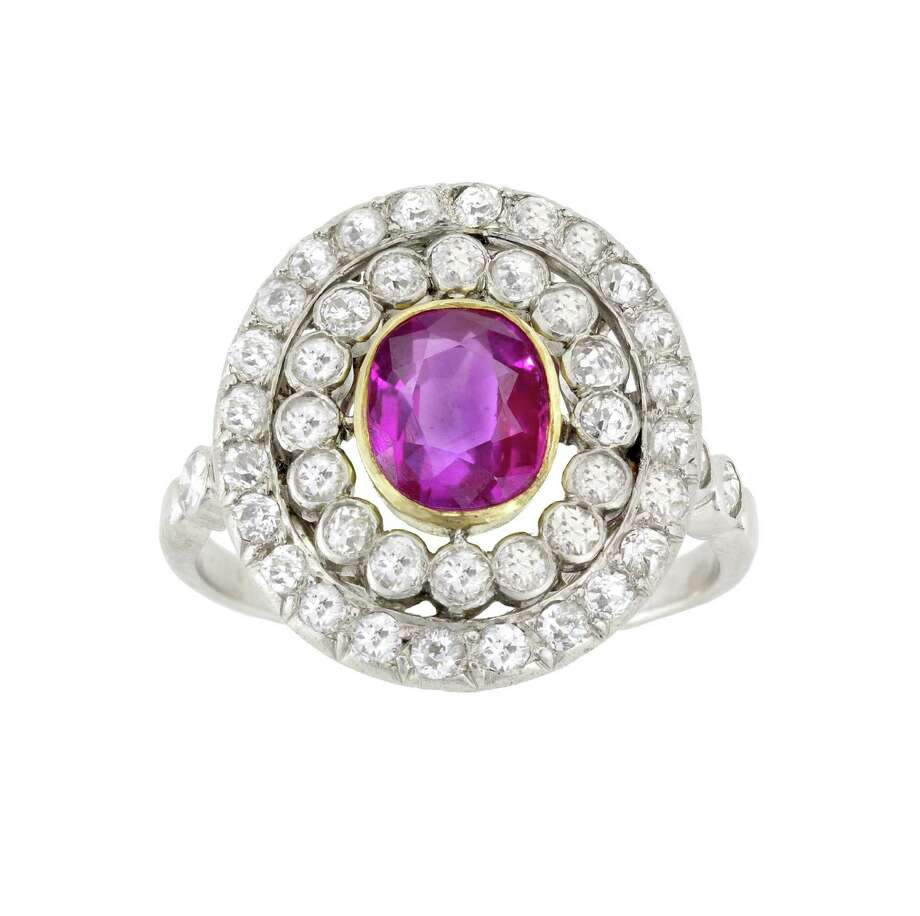 A ring from Past Era Antique Jewelry. / Past Era
