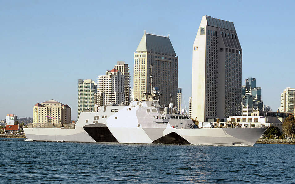 The first of the U.S. Navy's new littoral combat ships is scheduled to start its first overseas depl