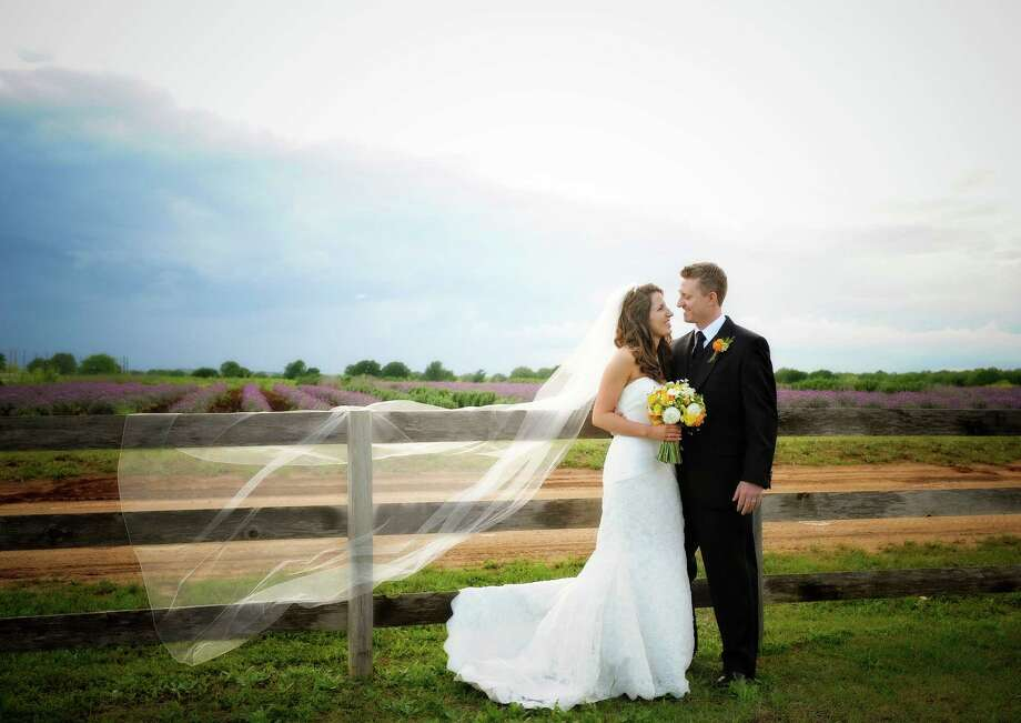 Becker VineyardsThe famous fields of lavender near Fredericksburg are a charming backdrop for weddings at Becker Vineyards. Combined with a reception in the Lavender Haus, a 1,800-square-foot limestone barn with a vaulted ceiling of timber and wrought iron chandeliers, it's a chic way to celebrate the countryside. 464 Becker Farms in Stonewall, 830-644-2681; beckervineyards.com. Photo: Svetlana Frolova