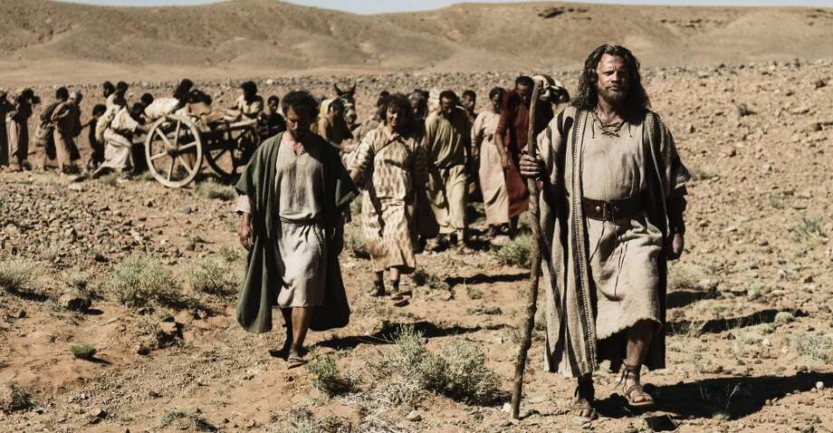 "Moses leads the Israelites on the exodus from Egypt in ""The Bible."" Photo: History Channel"