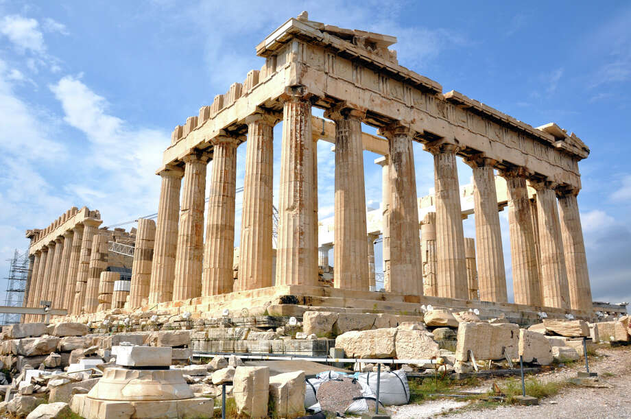 Despite Greece's economic troubles, the grandeur of the Acropolis is eternal. Photo: Cameron Hewitt, Ricksteves.com