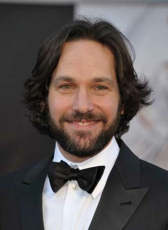 Actor Paul Rudd arrives at the Oscars at the Dolby Theatre on Sunday Feb. 24, 2013, in Los Angeles. Photo: John Shearer, Associated Press / Invision