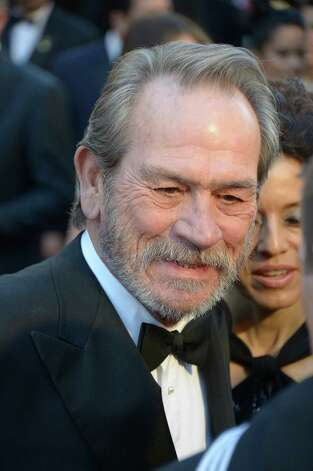 Best Supporting Actor nominee Tommy Lee Jones arrives on the red carpet for the 85th Annual Academy Awards on February 24, 2013 in Hollywood, California. Photo: JOE KLAMAR, AFP/Getty Images / AFP