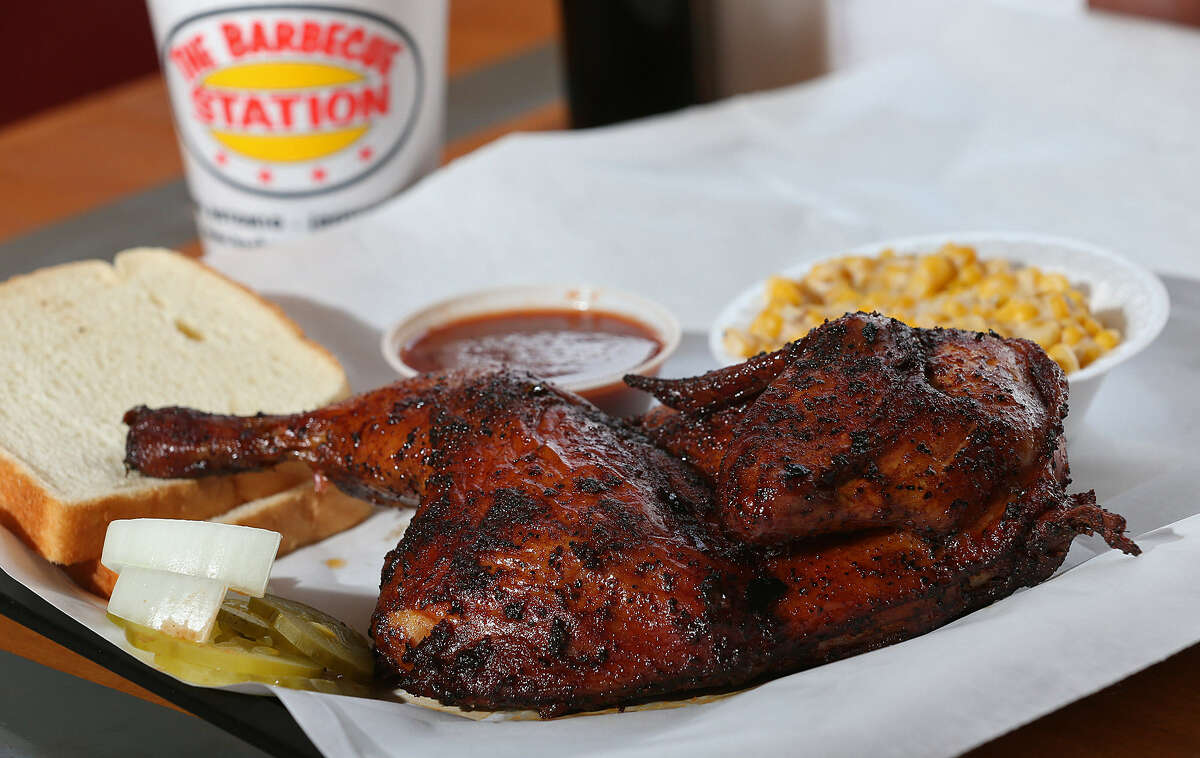 The skin on the smoked chicken is not to be missed.