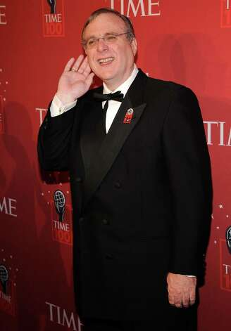 Paul Allen pictured at Time's 100 Most Influential People in the World gala at Jazz at Lincoln Center on May 8, 2008 in New York City. Photo: Larry Busacca, / / 2008 Larry Busacca