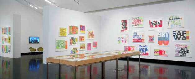 Someday Is Now: The Art of Corita Kent  Installation view courtesy of The Frances Young Tang Teaching Museum at Skidmore College. Photograph by Arthur Evans. Photo: Arthur Evans