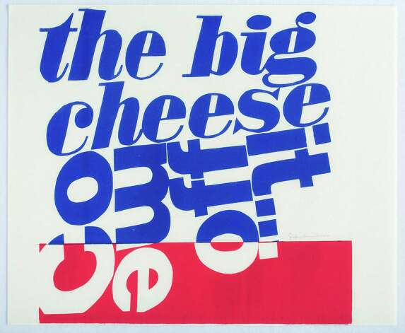Corita Kent come off it, 1966 Serigraph 29 7/8 x 36 1/4 inches Photographs courtesy of The Tang Museum at Skidmore College and Corita Art Center, Los Angeles. Photo: Arthur Evans