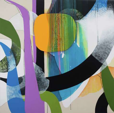 Carrie Moyer Pirate Jenny, 2012 Acrylic on canvas 72 x 72 inches Courtesy Tang Teaching Museum