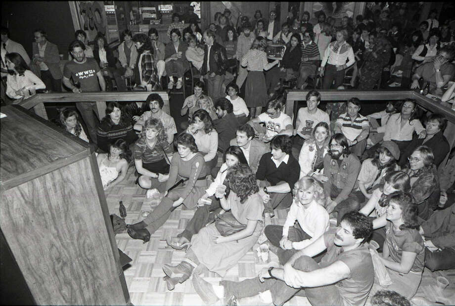 M*A*S*H party at Cooter's Club on Richmond. Feb. 28, 1983 Photo: Larry Reese, Chronicle File