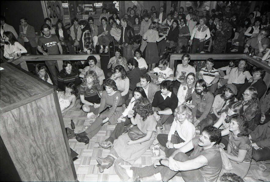 M*A*S*H party at Cooter's Club on Richmond. Feb. 28, 1983
