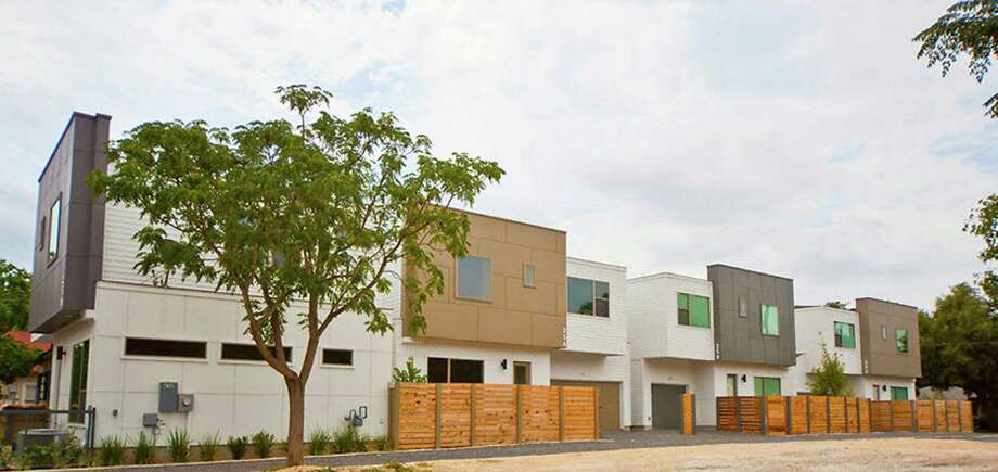 Cevallos Modern, located south of downtown, was the first townhome community that Terramark Urban Homes completed in San Antonio. The Sugarland-based development firm currently has plans to build eight townhome projects around the downtown area.  Source: Terramark Photo: Terramark