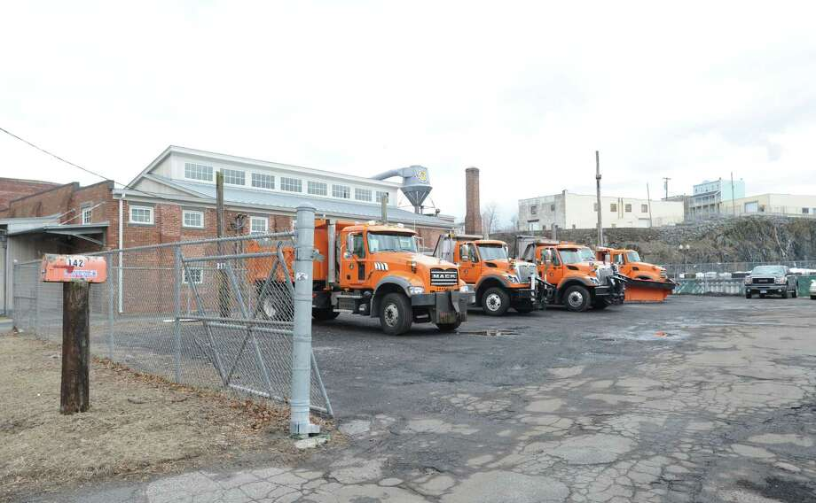Town of Greenwich Department of Public Works facility at 142 S. Water St. in Byram, Thursday, Feb. 28, 2013. Photo: Bob Luckey / Greenwich Time