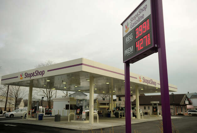 Gas is selling for $3.99 per gallon for regular at the Stop & Shop gas station at 705 Villa Avenue in Fairfield on Thursday, February 28, 2013. Photo: Brian A. Pounds / Connecticut Post