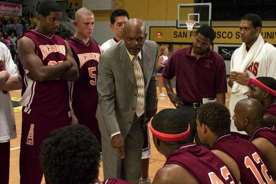 Samuel L. Jackson in Coach Carter... Photo: Sam Urdank / PARAMOUNT PICTURES