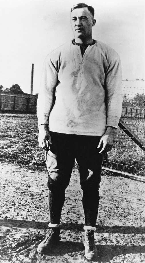 Reagan played George Gipp, running back of the Notre Dame Fighting Irish seen here. Photo: Collegiate Images, Collegiate Images/Getty Images / 1920 Notre Dame