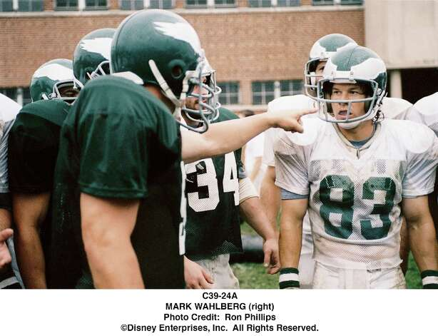 Mark Wahlberg starred as Vince Papale, an unlikely walk-on who made the 1976 Philadelphia Eagles team in the DATE film Invincible. Photo: Ron Phillips, Disney Pictures / Disney Pictures