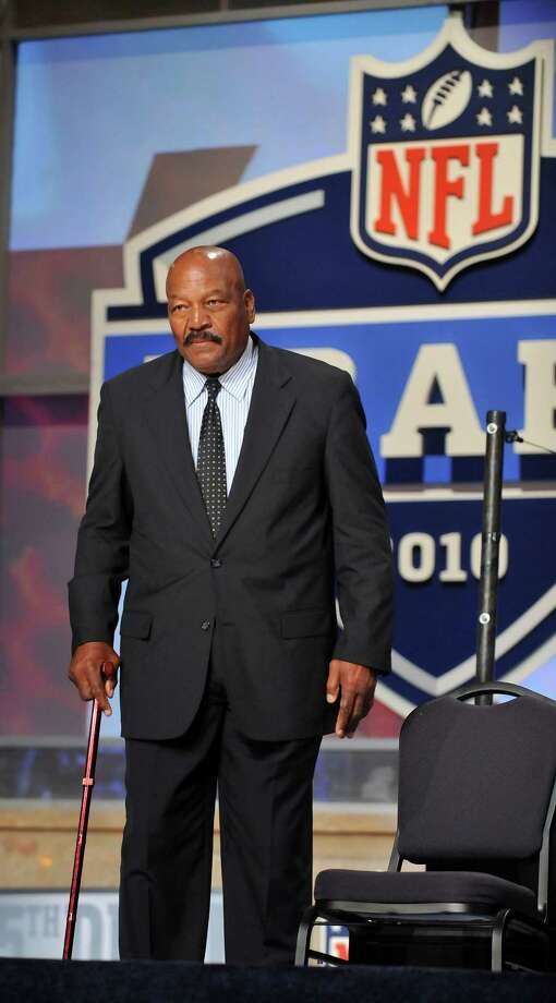Jim Brown —The Godfather of athletes-turned-actors. Brown is considered one of the greatest football players of all time, and he has a heck of an IMDb page. Photo: JASON SZENES, NYT / NYTNS