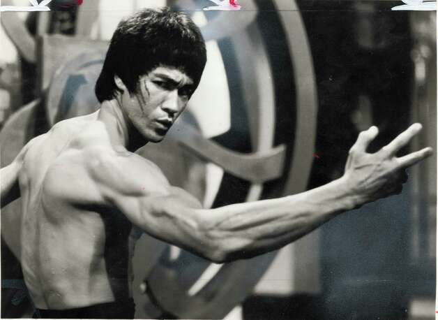 Bruce Lee —The martial arts master became a legend in America with TV roles like Kato on The Green Hornet and movies like the kung fu classic Enter the Dragon.