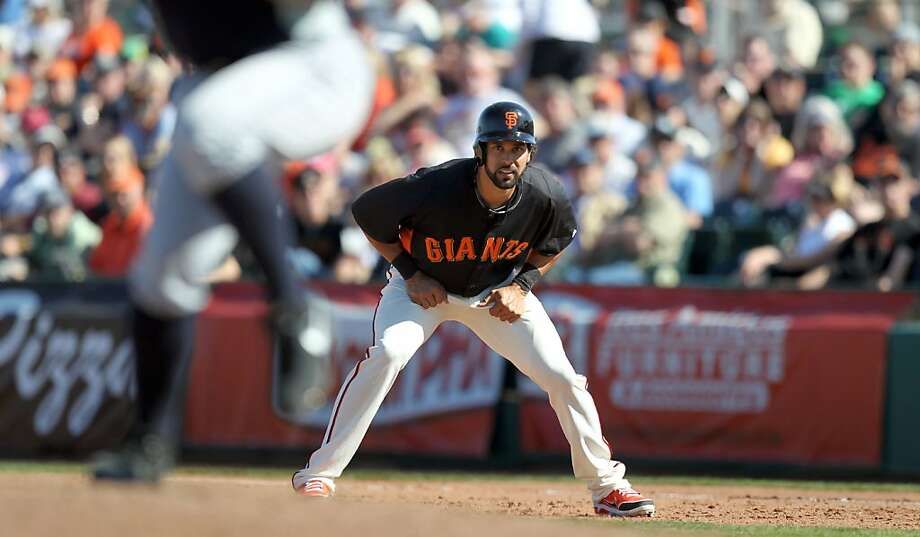 "Angel Pagan, who scored 95 runs in 2012, says the Giants won by ""playing the small baseball, playing the game right."" Photo: Lance Iversen, The Chronicle"