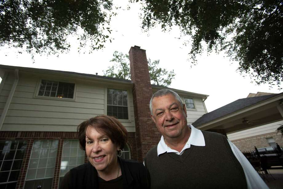 Deborah and Roland Tejada who run Tejas Roofing and Contracting, a small home-based business that stands to be affected by a bill in the Texas legislature proposing to put new restrictions on roofers., Feb. 28, 2013 in Houston. Photo: Eric Kayne / © 2013 Eric Kayne