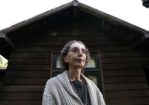 Joyce Carol Oates is teaching at UC Berkeley this year, on leave from her position at Princeton. Photo: Carlos Avila Gonzalez, The Chronicle