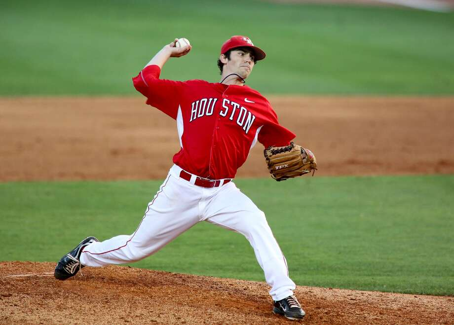 The former College   Park standout has a streak of 15 consecutive  scoreless innings to begin   the season. (Houston athletics) Photo: Houston Athletics