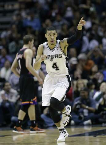 Spurs guard Danny Green averaged a career-best 15.1 points during February, making 51.4 percent from 3-point range. Photo: Eric Gay / Associated Press