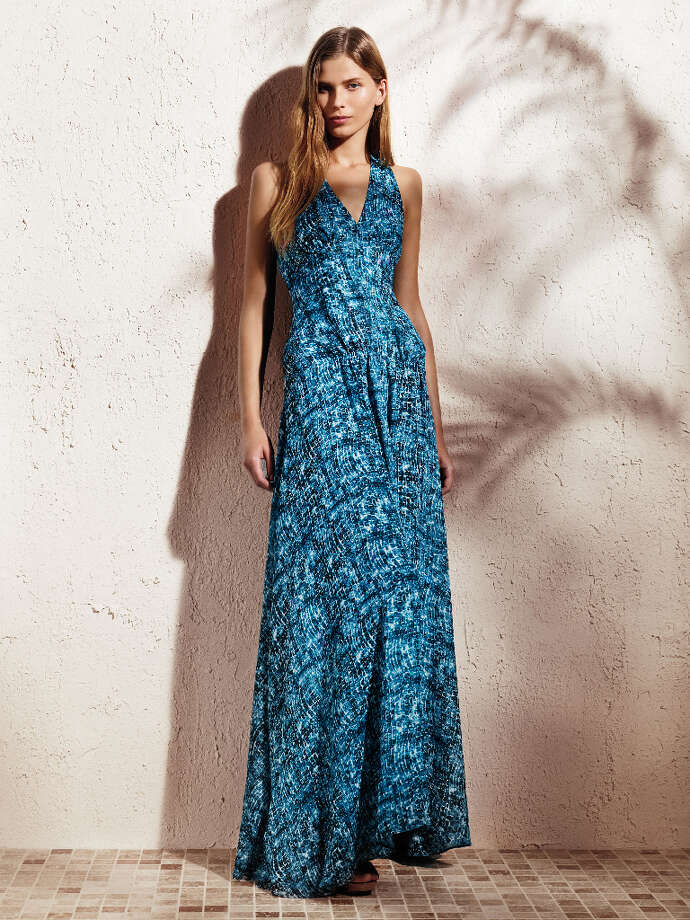 V-neck maxi dress ($88).