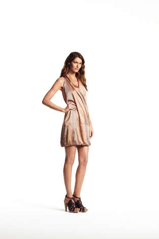 Draped neckline dress ($54).