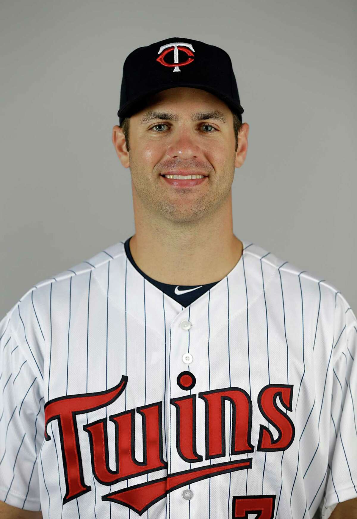 This is a 2013 photo of Joe Mauer of the Minnesota Twins baseball team. This image reflects the Minnesota Twins active roster as of Tuesday, Feb. 19, 2013, when this image was taken in Fort Myers, Fla. (AP Photo/David Goldman)