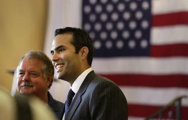 George P. Bush is seen as a rising star in the Republican Party.  Photo: Bob Owen, San Antonio Express-News