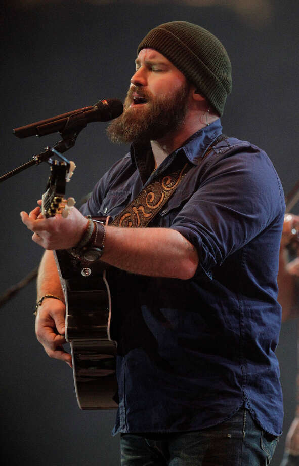 The Zac Brown Band performs during the RodeoHouston at the Houston Livestock Show and Rodeo at Reliant Stadium Thursday, Feb. 28, 2013, in Houston. Photo: Melissa Phillip, Houston Chronicle / © 2013  Houston Chronicle