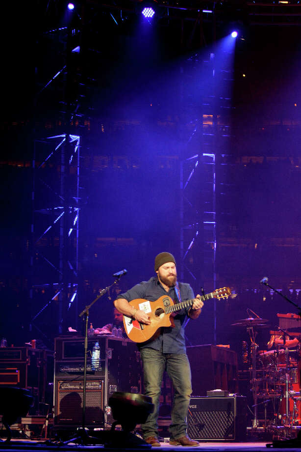 "If you aren't a rodeo act like the Zac Brown Band or U2, your band probably won't be playing Reliant Stadium. Seeing a show at Reliant has that ""big show"" feel to it. Photo: Melissa Phillip, Houston Chronicle / © 2013  Houston Chronicle"