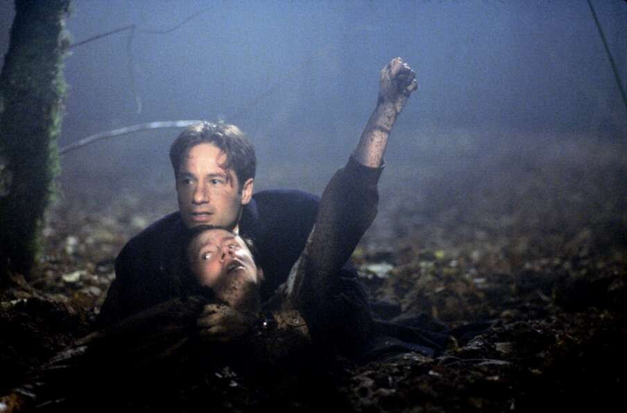"Mostly filmed in Vancouver, B.C., ''""The X-Files""'' featured a lot of dark, damp, spooky settings"