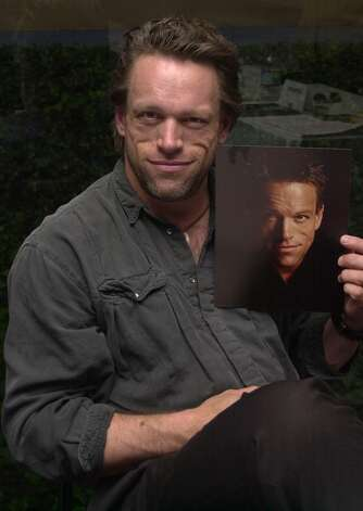 "There was this ""''X-Files''"" baddie (Brian Thompson) with the menacing face."