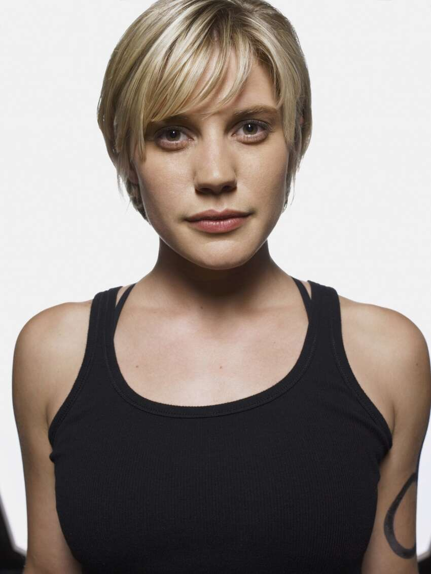 Katee Sackhoff Then: Lt. Kara