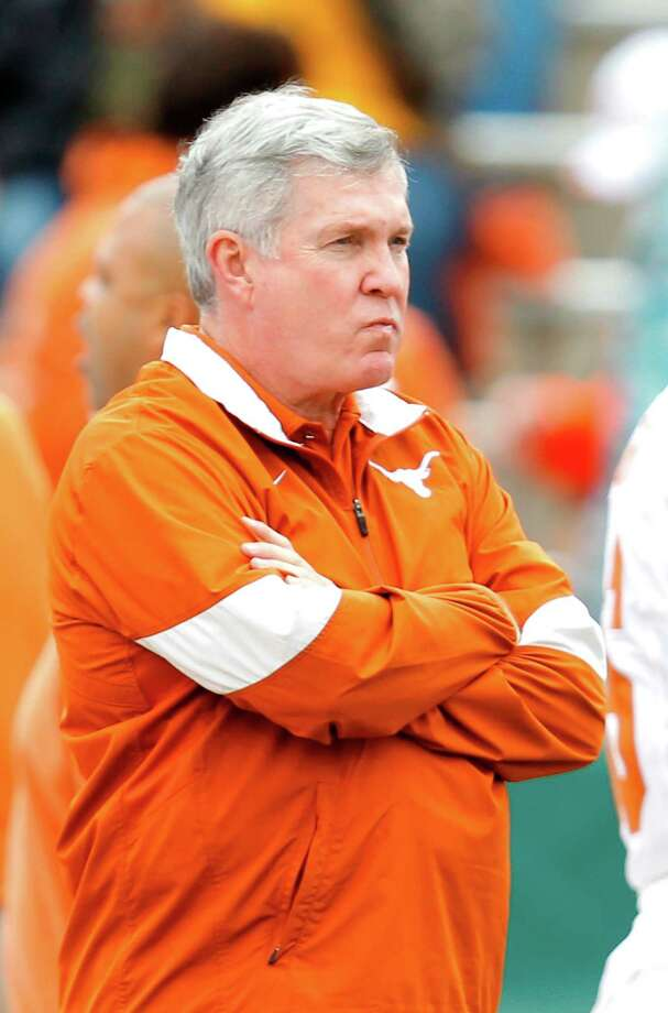 Mack Brown's Longhorns were 5-4 in Big 12 play in 2012. Photo: Sarah Glenn, Contributor / 2011 Sarah Glenn