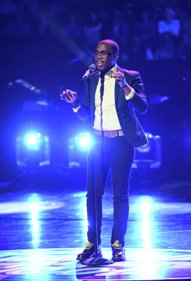 AMERICAN IDOL: Burnell Taylor in the Sudden Death Round of AMERICAN IDOL airing Thursday, Feb. 28 (8:00-10:00PM ET/PT) on FOX. CR: Michael Becker / FOX. Copyright / FOX.